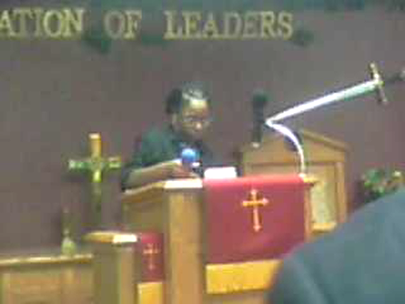 Anoited young preacher