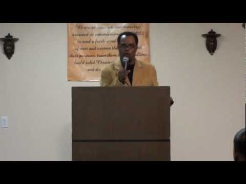 Apostle Kelvin Hall at Mouth of God Ministries