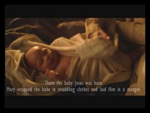 "The Christmas Story   ""Birth of Jesus Christ""   Silent Night  Music by LDS David Archuleta"