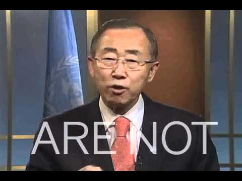 **Inspiring video** Ban Ki-moon: The Time Has Come. REMIX!