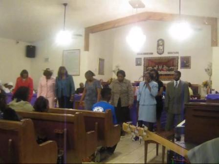 Jesus  St Luke Pastor's Anniversary2011