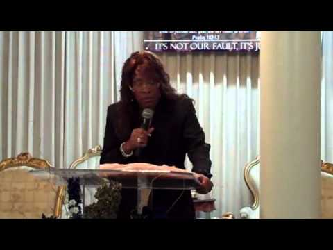"""Pastor Janice Caslin, """"The Latter Shall Be Greater!"""""""