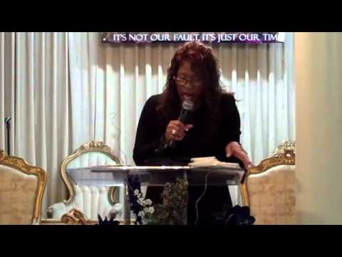 """Pastor Janice Caslin, """"A Pressing Place Is Always A Blessed Place!"""""""