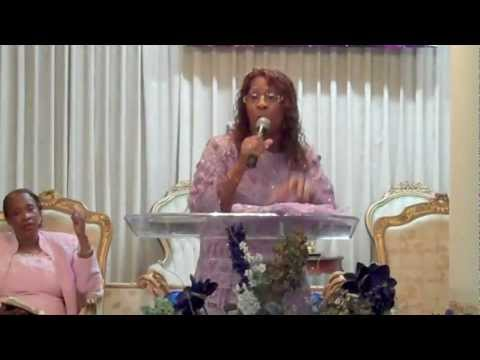 """Pastor Janice Caslin, """"Don't Show Up When I Blow Up!"""""""