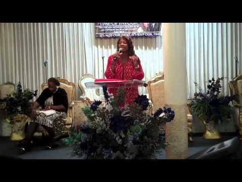 """Pastor Janice Caslin, """"Left For Dead But I Survived!"""""""