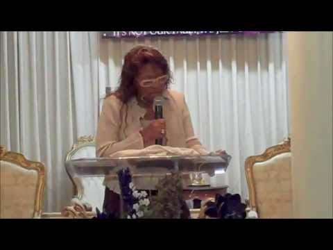 """Pastor Janice Caslin, """"I Can't See!"""""""