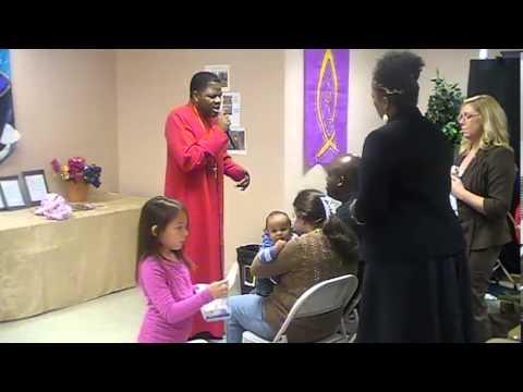 Bishop Campbell Prophesying