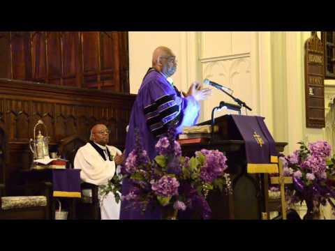 Bishop Frank Willett Ordination service - dedication and sermon