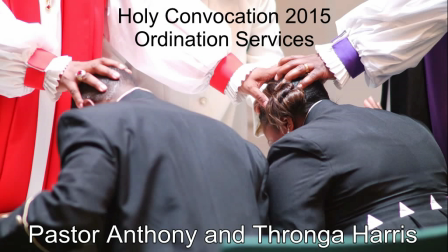 Holy Convocation Ordination