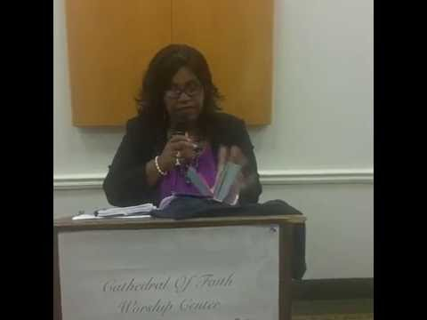 "Elder Saunja D Grant   ""Now Faith"""