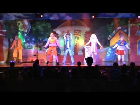 Lazy Town LIVE!! ..... LazyTown Live Good Quality video! @ Butlins Minehead