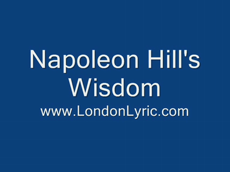 London Lyric Presents Napoleon Hill's Wisdom