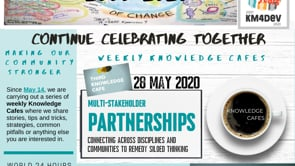 KM4DEV-KnowledgeCafe3_MultistakeholderPartnerships