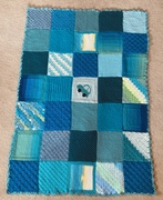 Squares from Sharon B and Gloria Grandy.