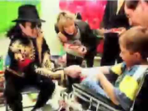 "Michael Jackson ""for all the lost children"""
