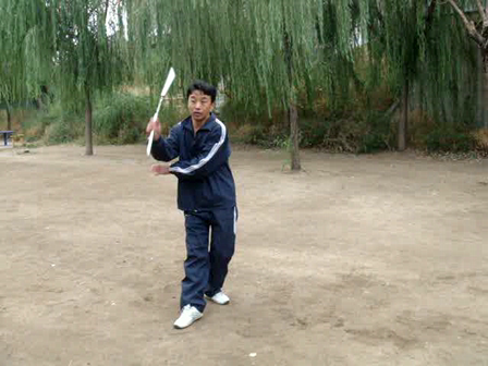 I am doing  Chinese nunchakus