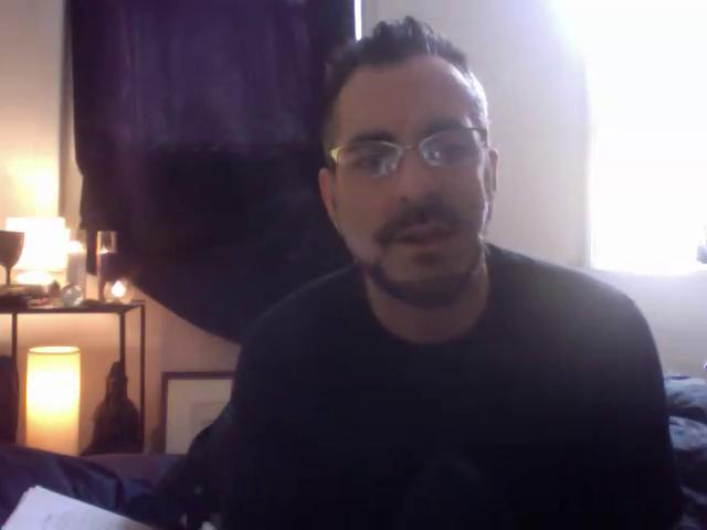 #72 Kirk's psychic trance channel: Clean and Sober Recovery and the Tarot cards 6/11