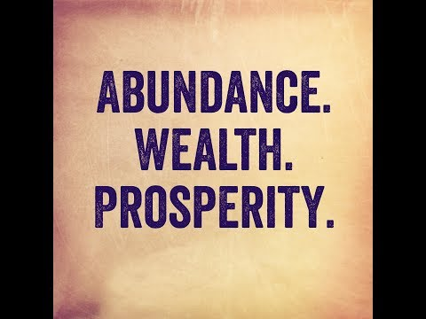 Wealth, How To Get It, and Why You Deserve It! (Law of Attraction)