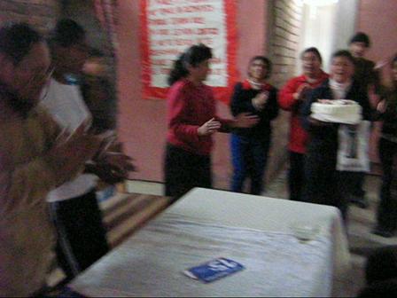 Birthday with Voz de la Transformacion