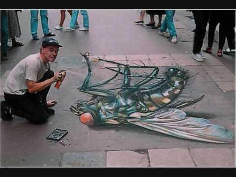 chalk art....FANTASTIC!!