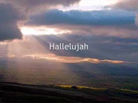 Heather Williams - Hallelujah - Lyrics