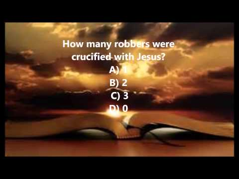 Bible Trivia 013 From The Book Of Mark