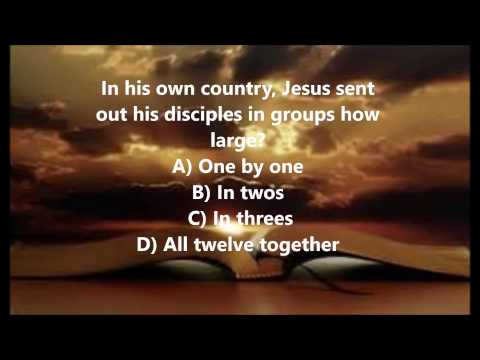 Bible Trivia 011 From The Book Of Mark