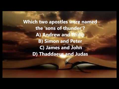 Bible Trivia 015 From The Book Of Mark