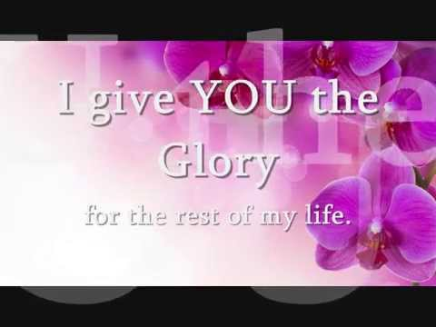 """All The Glory""  Alexis Spight lyrics"