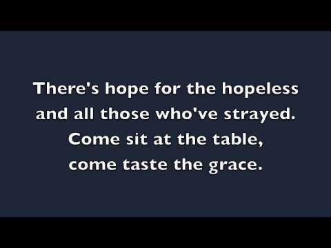 Come As You Are - David Crowder (LYRICS)