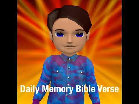 Daily Memory Bible Verse John 3:16