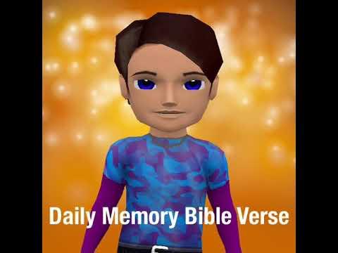 Daily Memory Bible Verse John 1:1