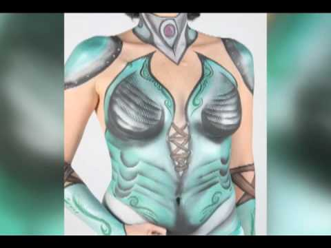 Breast Cancer Awareness Body Painting Project - ArtStreet