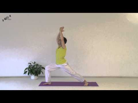 Sun Salutations With Warrior 1-2-3 Variations