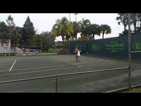 Olga Danilovic (*2001 / SRB) - 2015 Metropolia Orange Bowl - Plantation, FL / USA - (C) December 20…