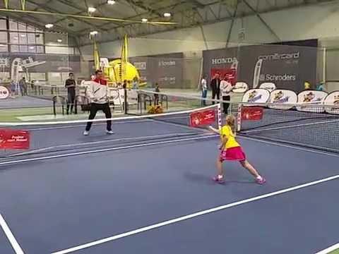 Ewa (*2009 / POL) - Forhand 3.0 with ITF Red Ball - Biel / Switzerland