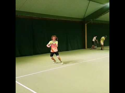 Jan Staeuble (*1999 / SUI) - Forehand 3.0 - slow motion - junior club player
