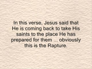 The Rapture And The Great Tribulation Part 4