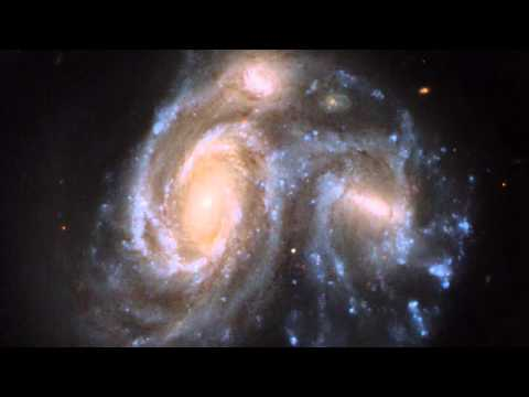 Giant Galaxy Collision Looks Like a Penguin | Hubblecast 67 | ESA Hubble Space HD Video