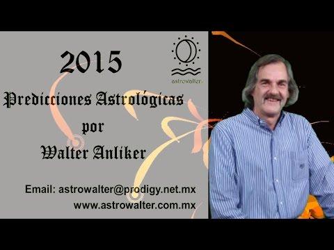 2015 PREDICCIONES ASTROLOGICAS WALTER ANLIKER