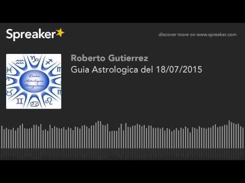 Guia Astrologica del 18/07/2015