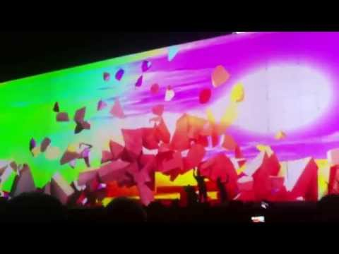 Roger Waters Argentina 2013 Comfortably Numb Guitar Solo - The Wall