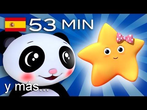 Estrella que brillas más | Y muchas más canciones infantiles | ¡53 min de LittleBabyBum!