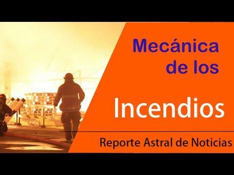 MECÁNICA DE LOS INCENDIOS-Reporte Astral