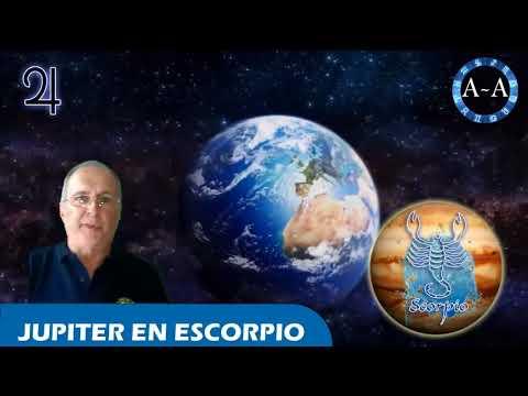 INFLUENCIA DE JUPITER EN ESCORPIO | 2017 HD