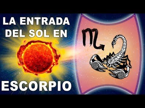 La entrada del SOL en Escorpio año 2017