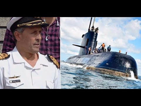 Operativo de Búsqueda del submarino ARA San Juan perdido en el mar con 44 tripulantes a bordo.