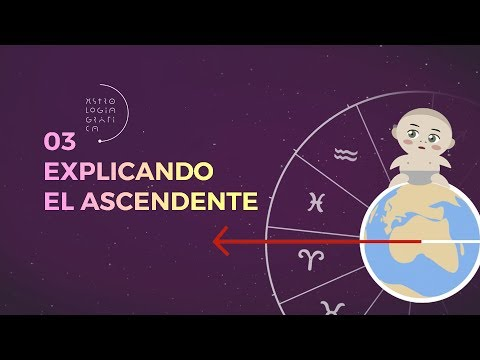 Explicando el Ascendente [03 / ASTROLOGÍA GRÁFICA]