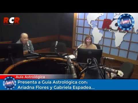 PROGRAMA DE RADIO GUÍA ASTROLÓGICA CON ARIADNA FLORES