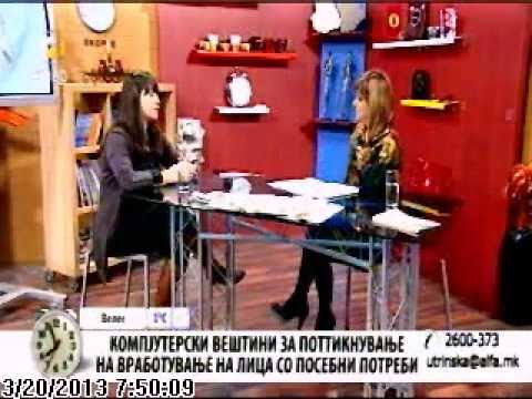 Get Online Week 2013 - Macedonia on Alfa TV (March 20, 2013)
